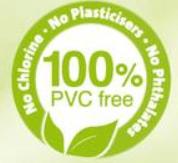 100% PVC fri