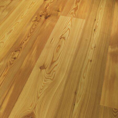 1739923 Lærketræ Rustikal. viser gulvstruktur og farve. Xl planke