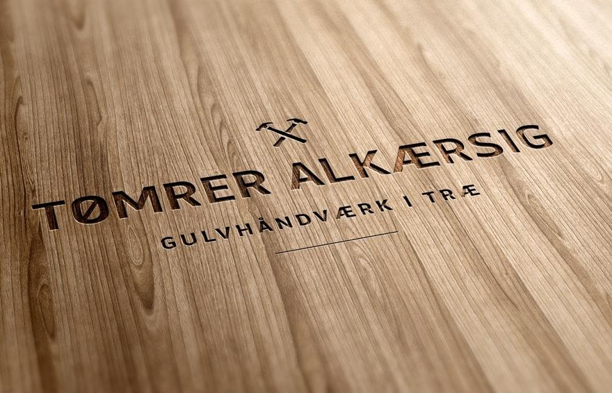 Tømrer Alkærsig logo