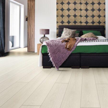 Viser gulvstruktur samt farve